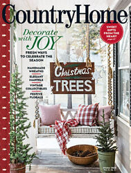 COUNTRY HOME WINTER 2020 HOLIDAY xmas cottage journal southern living sampler $6.99