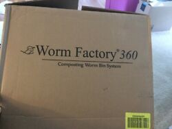 Worm Factory 360 WF360B Worm Composter Black Natures Footprint Fast Shipping $125.00