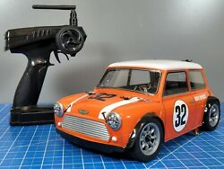 Use Tamiya 1 10 RC Rover Mini Cooper Racing FF M 03 Chassis RedCat 2.4GHz ESC $315.00