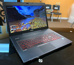 MSI GS70 6QE Stealth 17.3quot; Gaming Laptop i7 6700HQ 970M 16GB RAM 512GB SSD $525.00