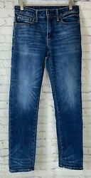 AMERICAN EAGLE OUTFITTERS Mens#x27; Next Level Airflex Slim Blue Jeans Size 28 x 30 $24.99