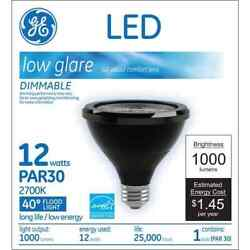 GE 73583 LED12DP30RB82740 PAR 30 Commercial Flood LED Bulb 2700K 1000 Lumens