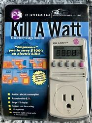 P3 KILL A WATT Power Usage Voltage Meter Monitor P4400 NEW $32.00
