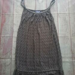 Elif For Jordan Taylor Beach Bathing Suit Cover Up Dress Womens small $14.99
