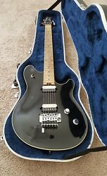 Peavey Wolfgang Standard Black Arch Top Pat. Pending 96 97 1st 2000 Made USA $2699.00