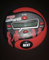 Electronic Catch Phrase by Hasbro Gaming Red Black 5000 Words Preowned Tested $19.99
