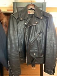 Vintage Men's Genuine The Leather Shop Sears Size 40 Tall M $40.00