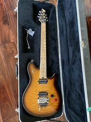Peavey Wolfgang Special Quilt Top Sunburst EVH with Hard Shell Case $1600.00