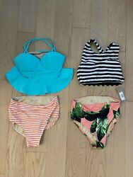 Albion fit 2 swimsuits size small $100.00
