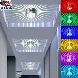 RGB Dimmable LED Ceiling Light Recessed Aluminum Down Light Panel Ceiling Lamp