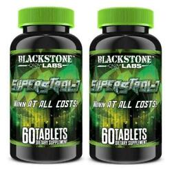 Blackstone Labs SUPERSTROL 7 Anabolic Lean Muscle amp; Strength Builder: 2 Bottles $118.99