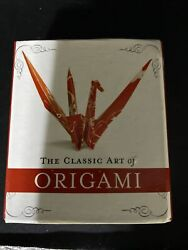 The Classic Art of Origami Kit Mini Kit Travel Size incl Book for 5 models $7.50