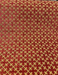 Upholstery Chenille Vivaldi Antique Red Covington Fabric By The Yard $16.95