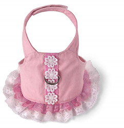 Doggles Dog Harness Dress Pink Extra Small $19.28