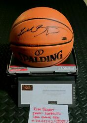 KOBE BRYANT Signed Official NBA Game Ball Series Basketball Panini Authenticate $3900.00