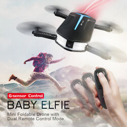 JJRC H37 BABY ELFIE WIFI RC Quadcopter Pocket Camera Foldable Selfie Drone Toy $35.99