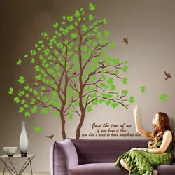 Large 3D Removable Dining Room Wall Trees Green Decorative Furnishing Home $18.76