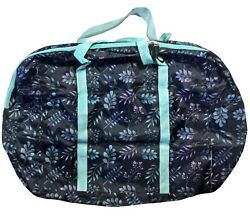 Falling Jewel Leaves Lightweight Polyester Duffel Bag Nature Lovers 17x13x7 $15.00