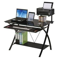 Contemporary Home Study Room Office Home Furnitures Computer Desk For PC Laptop $189.99