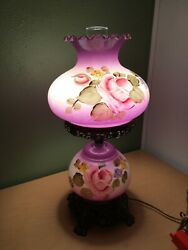 """VINTAGE HURRICANE ELECTRIC 3 Way TABLE LAMP GONE WITH THE WIND GWTW 20"""" Tall $199.95"""