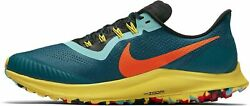Nike Air Zoom Pegasus 36 Trail Running Shoes Mens AR5677 301 Geode Teal New RARE $100.00