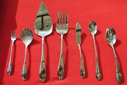 NOS 1983 Georgetown Pattern Dinner Pieces By Gorham Glossy Stainless Rear Logo $28.00
