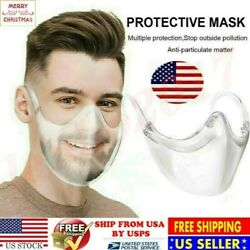 Clear Durable Mask Bracket Face Shield Combine Plastic Reusable Facemask Cover @ $9.59