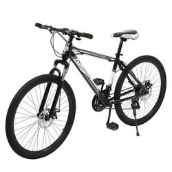 21 Speed MTB 24quot; 26quot; Front Suspension Mountain Bike Bicycle Cycling Disc Brakes $147.99