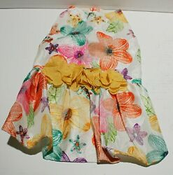 Fitwarm Small Floral Dog Harness Dress FOR SMALL BREED DOGS $16.46