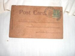 Postcard amish leather post card West Rutland VT Nice condition attic find $14.00