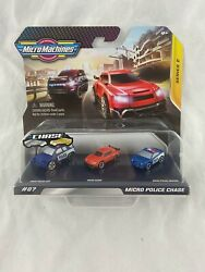 MICRO MACHINES MICRO POLICE CHASE #07 3 Pack Series 2 2020 NEW $7.99