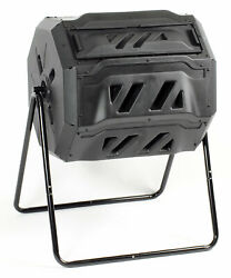 KoolScapes 42 Gallon Rotary 2 Chamber Tumbling Composter $114.01