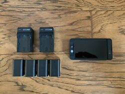 SmallHD 502 SDI HDMI On Camera Monitor w Small HD 502 Batteries amp; Charger $600.00
