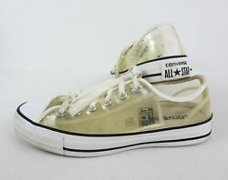 Converse All Star Womens 8 Mens 6 Clear Transparent Chuck Taylor Sneakers Shoes $39.99