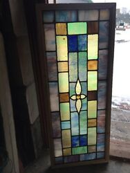 Sg 1250 Antique For Joy Old Transom Window 18.25 X 45.375 $495.00