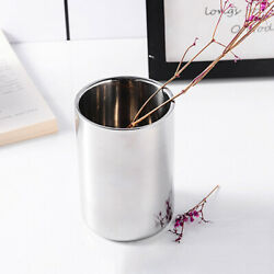 Insulated Stainless Double Wall Non Spill Travel Mug NO Handle Coffee Tea Hot Cu C $15.95