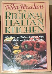 The Regional Italian Kitchen Nika Hazelton 1995 Hardcover Clean $10.99