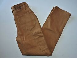 Women#x27;s Lee Vintage Modern High Rise Dungaree Ankle Carpenter Jeans Size 31 NWT $34.99