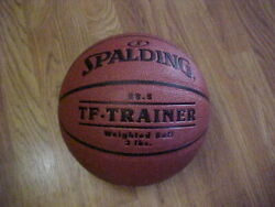 Spalding TF Trainer Weighted Trainer Ball 3lbs 28.5 Composite Leather $37.95