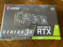MSI Gaming GeForce RTX 3080 10GB GDRR6X 320 Bit NEW **IN HAND SHIPS NOW 🚚💨** $1499.99