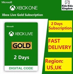 Xbox Live Gold 14 Days Membership Trial code NOT Game Pass Ultimate USA UK $3.99