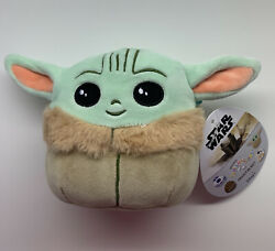 "Star Wars The Mandalorian The Child Baby Yoda Squishmallow 5"" Brand New $16.49"