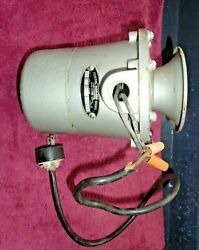 Federal Sign and Signal Corporation Model 20 Submarine Diving Siren TESTED $249.99