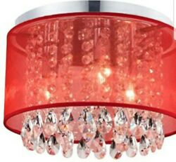 Papaya Red Chandelier for Girls#x27; Room $70.00