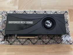 ZOTAC Gaming GeForce RTX 2080 Blower GPU Graphics Card 8GB DDR6 $650.00