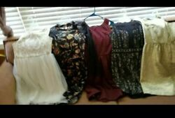 LOT of 9 Junior Dresses Excellent Like New Condition $158 Kinsie Dress NWT $75.00
