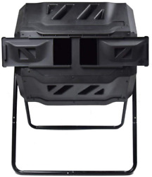 Large Composting Tumbler Dual Rotating Outdoor Garden Compost Bin Bpa Free Easy $114.21