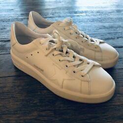 Golden Goose Pure Star White Sneakers Sz 40 $250.00