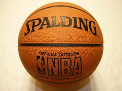 Spalding Official Size amp; Weight NBA Outdoor Composite Leather Game Basketball $21.95