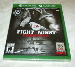 Fight Night Champion for Xbox 360 amp; Xbox One Brand New Fast Shipping $21.95